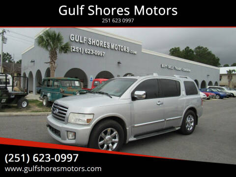 2007 Infiniti QX56 for sale at Gulf Shores Motors in Gulf Shores AL