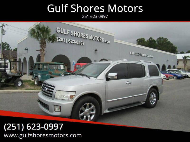 2007 Infiniti QX56 for sale at Gulf Shores Motors in Gulf Shores AL