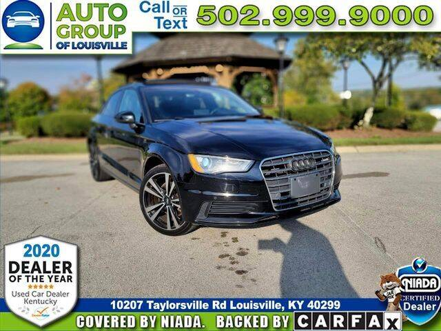 2016 Audi A3 for sale at Auto Group of Louisville in Louisville KY