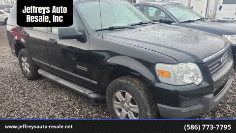 2006 Ford Explorer for sale at Jeffreys Auto Resale, Inc in Clinton Township MI