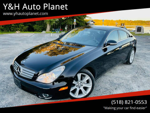 2008 Mercedes-Benz CLS for sale at Y&H Auto Planet in West Sand Lake NY