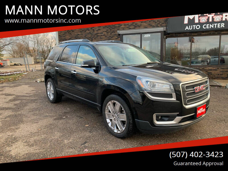 2017 GMC Acadia Limited for sale at MANN MOTORS in Albert Lea MN