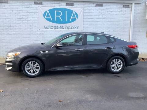 2017 Kia Optima for sale at ARIA  AUTO  SALES in Raleigh NC