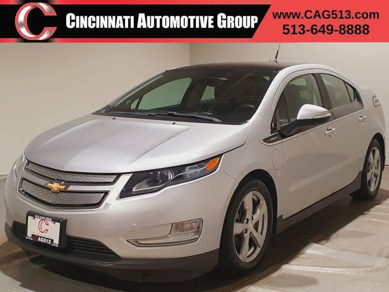 2012 Chevrolet Volt for sale at Cincinnati Automotive Group in Lebanon OH