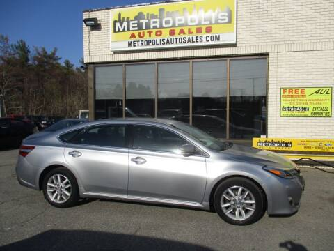 2015 Toyota Avalon for sale at Metropolis Auto Sales in Pelham NH