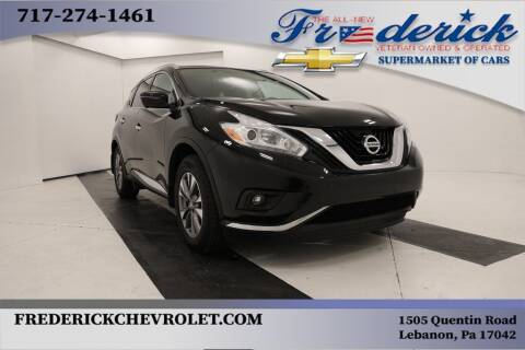 2017 Nissan Murano for sale at Lancaster Pre-Owned in Lancaster PA