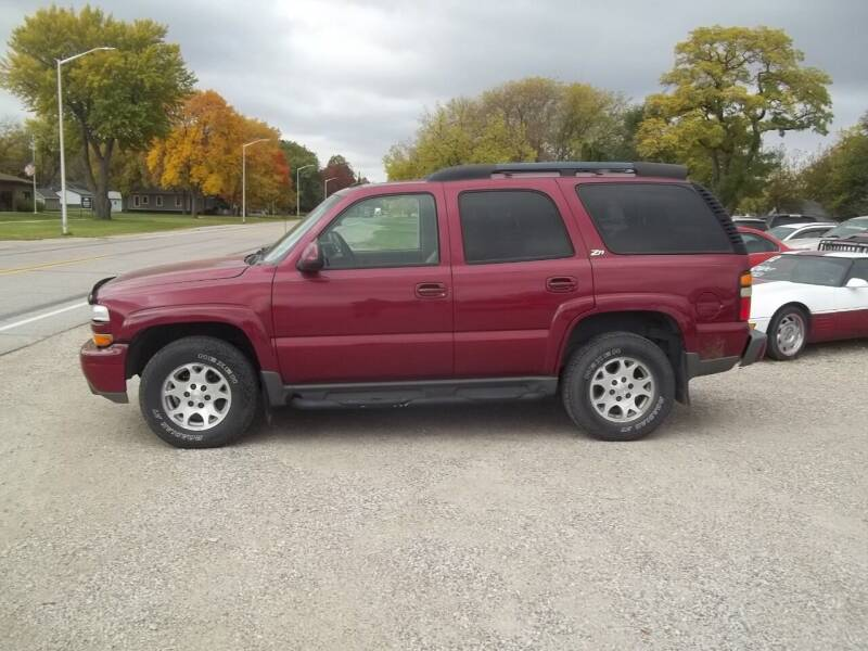 2004 Chevrolet Tahoe for sale at BRETT SPAULDING SALES in Onawa IA