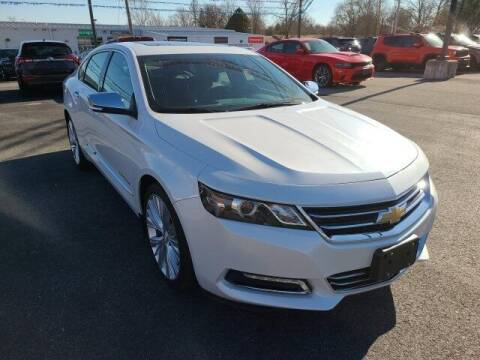 2017 Chevrolet Impala for sale at LeMond's Chevrolet Chrysler in Fairfield IL