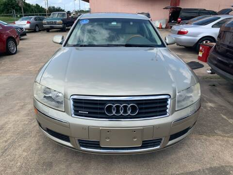 2005 Audi A8 L for sale at 1st Stop Auto in Houston TX