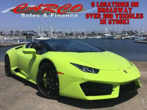 2019 Lamborghini Huracan for sale at CARCO SALES & FINANCE in Chula Vista CA
