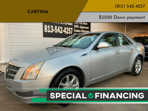 2009 Cadillac CTS for sale at Cartina in Tampa FL
