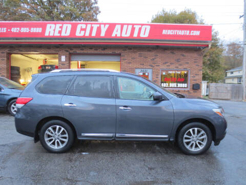 2014 Nissan Pathfinder for sale at Red City  Auto in Omaha NE
