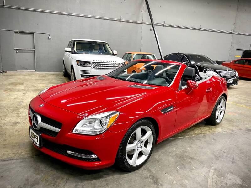 2014 Mercedes-Benz SLK for sale at EA Motorgroup in Austin TX