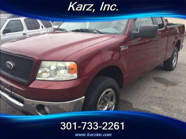 2006 Ford F-150 for sale at Karz INC in Funkstown MD