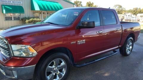2013 RAM Ram Pickup 1500 for sale at Haigler Motors Inc in Tyler TX