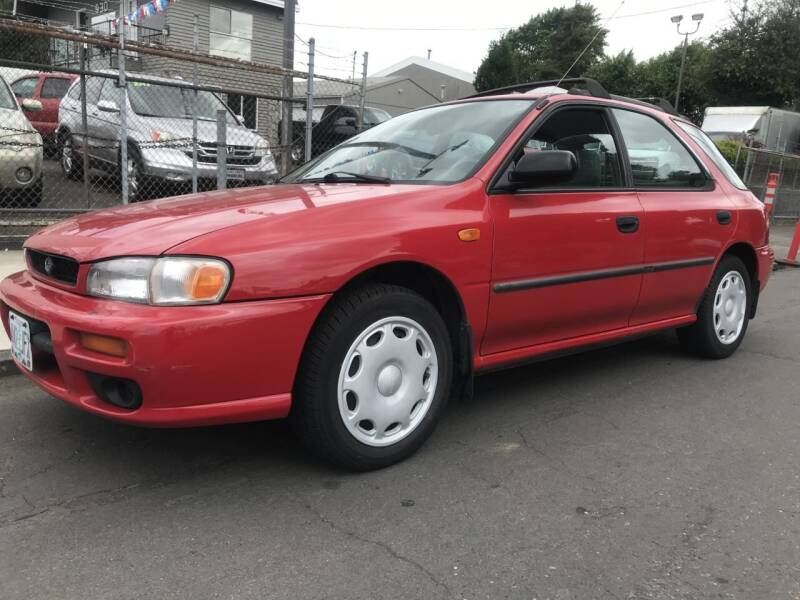 1998 Subaru Impreza for sale at Chuck Wise Motors in Portland OR
