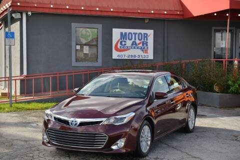 2013 Toyota Avalon Hybrid for sale at Motor Car Concepts II - Kirkman Location in Orlando FL