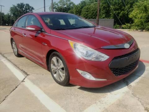 2013 Hyundai Sonata Hybrid for sale at ZNM Motors in Irving TX