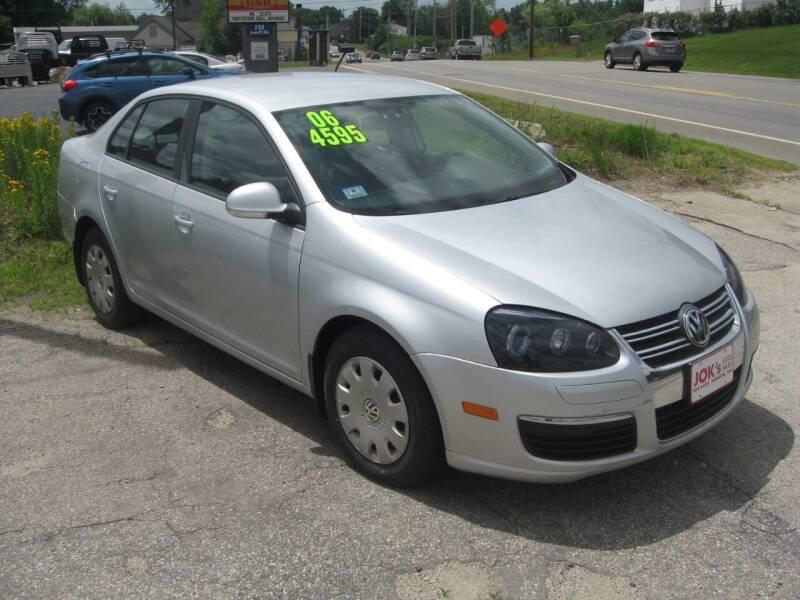 2006 Volkswagen Jetta for sale at Joks Auto Sales & SVC INC in Hudson NH