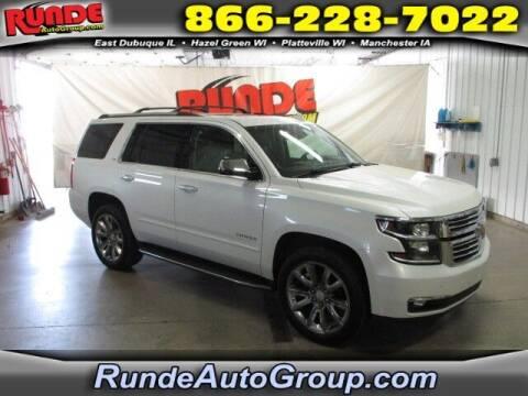 2016 Chevrolet Tahoe for sale at Runde PreDriven in Hazel Green WI