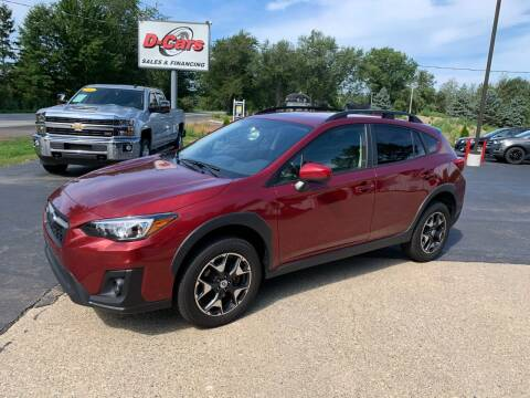 2018 Subaru Crosstrek for sale at D-Cars LLC in Zeeland MI