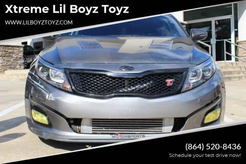2015 Kia Optima for sale at Xtreme Lil Boyz Toyz in Greenville SC