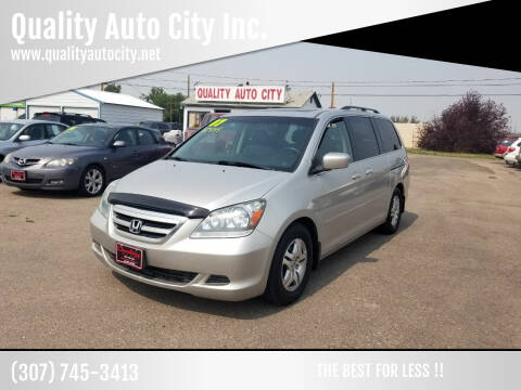 2007 Honda Odyssey for sale at Quality Auto City Inc. in Laramie WY