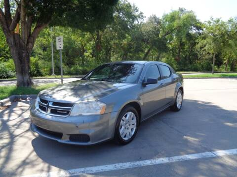 2012 Dodge Avenger for sale at ACH AutoHaus in Dallas TX