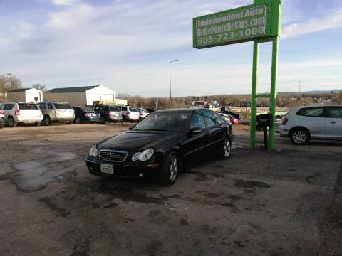 2004 Mercedes-Benz C-Class for sale at Independent Auto in Belle Fourche SD