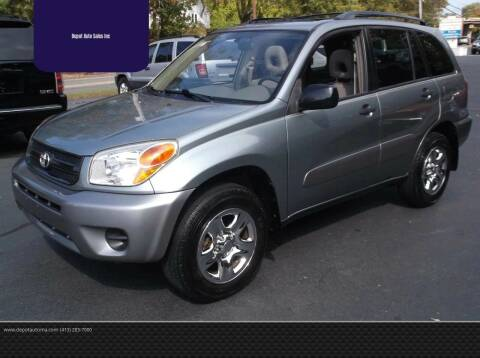 2005 Toyota RAV4 for sale at Depot Auto Sales Inc in Palmer MA