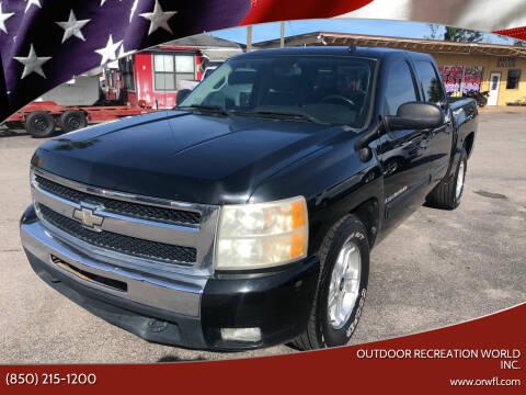 2009 Chevrolet Silverado 1500 for sale at Outdoor Recreation World Inc. in Panama City FL