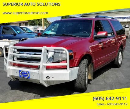 2014 Ford Expedition EL for sale at SUPERIOR AUTO SOLUTIONS in Spearfish SD