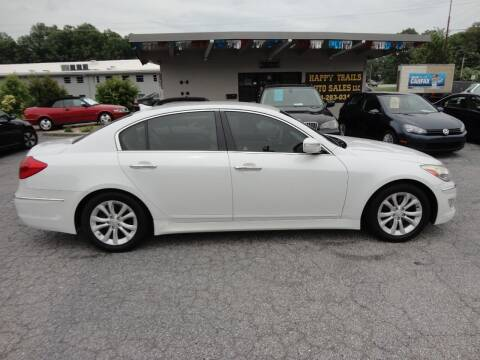 2013 Hyundai Genesis for sale at HAPPY TRAILS AUTO SALES LLC in Taylors SC
