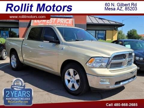 2011 RAM Ram Pickup 1500 for sale at Rollit Motors in Mesa AZ