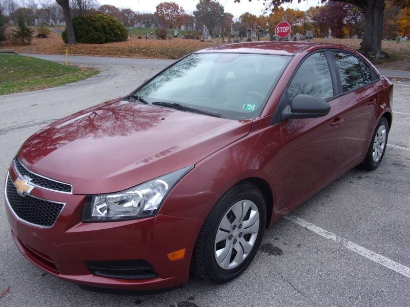 2012 Chevrolet Cruze for sale at Pyles Auto Sales in Kittanning PA