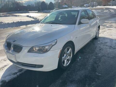 2008 BMW 5 Series for sale at Autowright Motor Co. in West Boylston MA