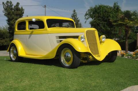 1934 Ford Tudor for sale at Classic Car Deals in Cadillac MI