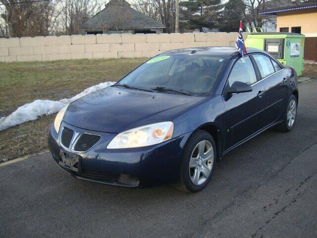 2009 Pontiac G6 for sale at MOTORAMA INC in Detroit MI