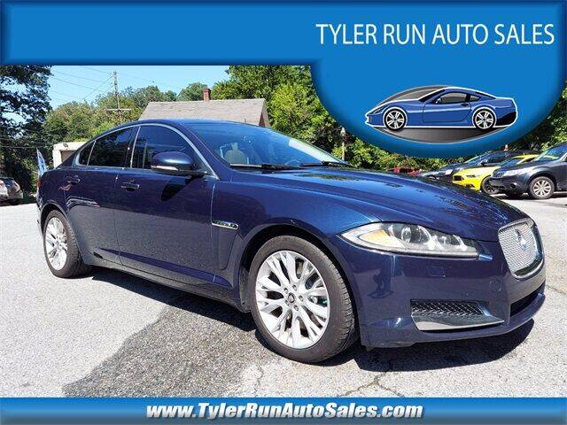 2013 Jaguar XF for sale at Tyler Run Auto Sales in York PA