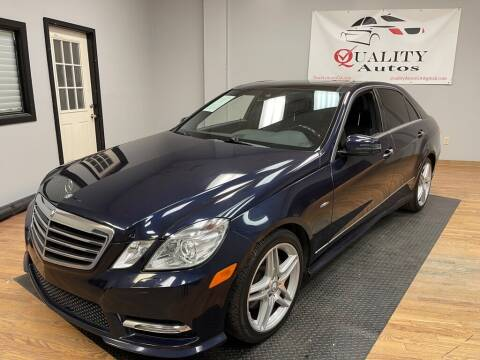 2012 Mercedes-Benz E-Class for sale at Quality Autos in Marietta GA