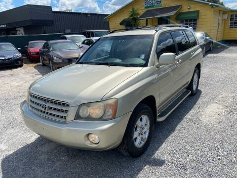 2003 Toyota Highlander for sale at Velocity Autos in Winter Park FL