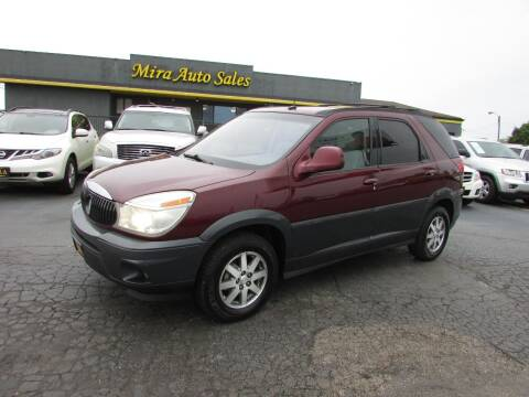 2004 Buick Rendezvous for sale at MIRA AUTO SALES in Cincinnati OH
