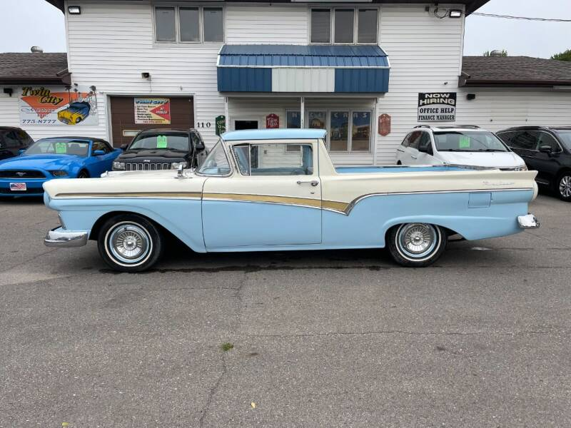 1957 Ford Ranchero for sale at Twin City Motors in Grand Forks ND