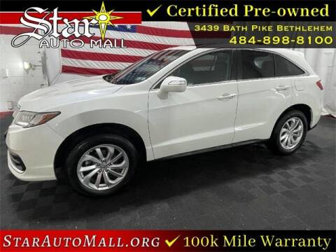 2017 Acura RDX for sale at STAR AUTO MALL 512 in Bethlehem PA