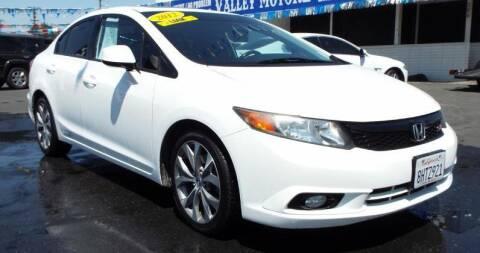 2012 Honda Civic for sale at 559 Motors in Fresno CA