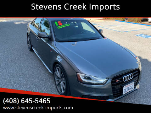 2015 Audi S4 for sale at Stevens Creek Imports in San Jose CA