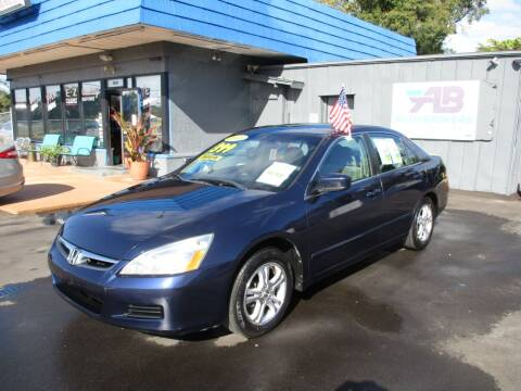 2006 Honda Accord for sale at AUTO BROKERS OF ORLANDO in Orlando FL