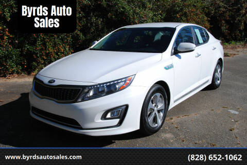 2015 Kia Optima Hybrid for sale at Byrds Auto Sales in Marion NC