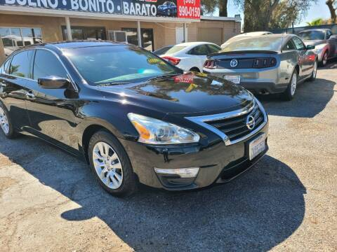 2015 Nissan Altima for sale at E and M Auto Sales in Bloomington CA
