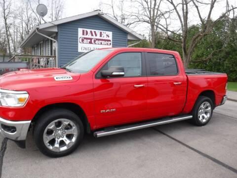 2019 RAM Ram Pickup 1500 for sale at Dave's Car Corner in Hartford City IN
